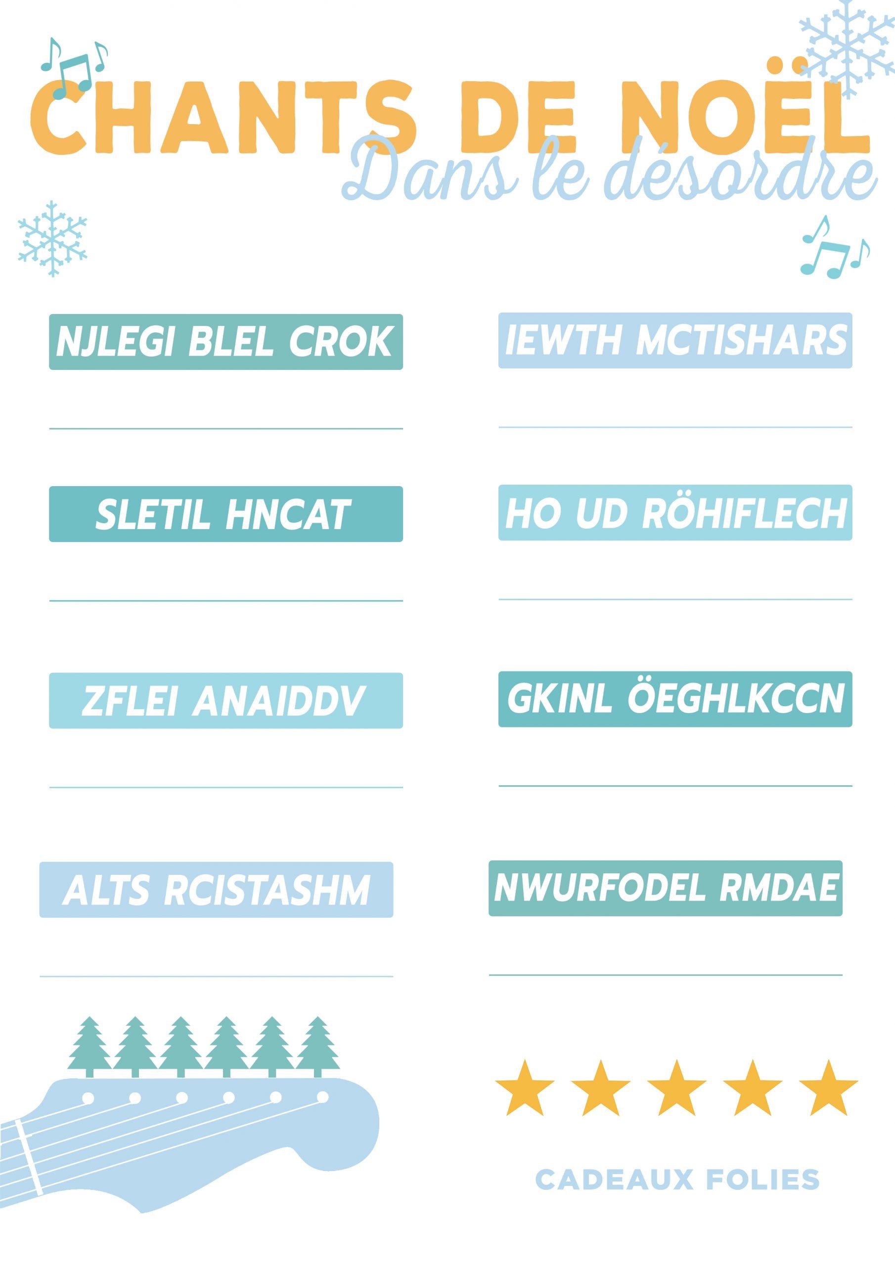 4 Jeux De Noël Pour Petits Et Grands À Imprimer Gratuitement dedans Rebus A Imprimer Gratuitement
