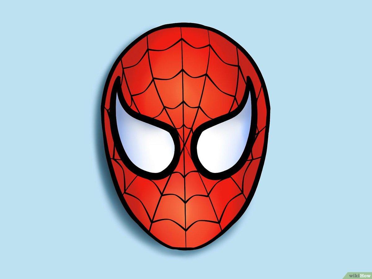 4 Manières De Dessiner Spider Man - Wikihow serapportantà Tete Spiderman A Imprimer