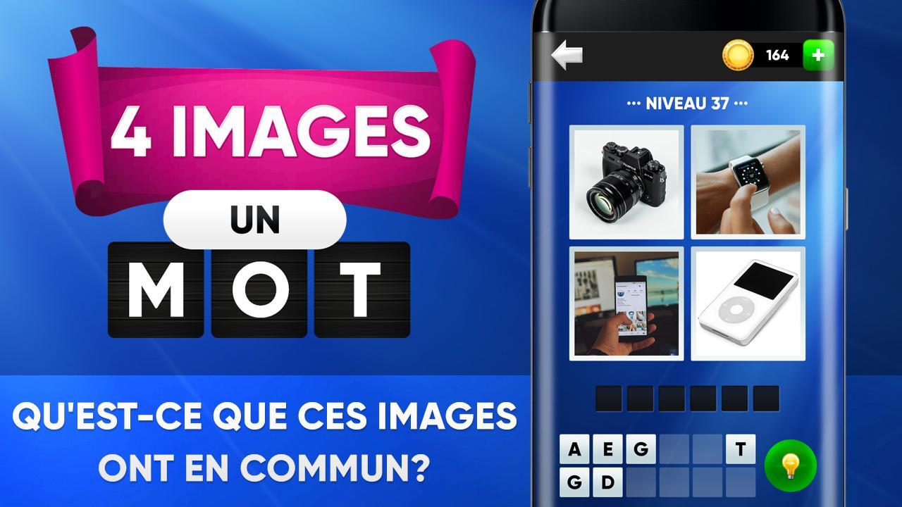 4 Photos 1 Mot. Quatre Images, Un Mot Pour Android encequiconcerne Un Mot Pour Quatre Images