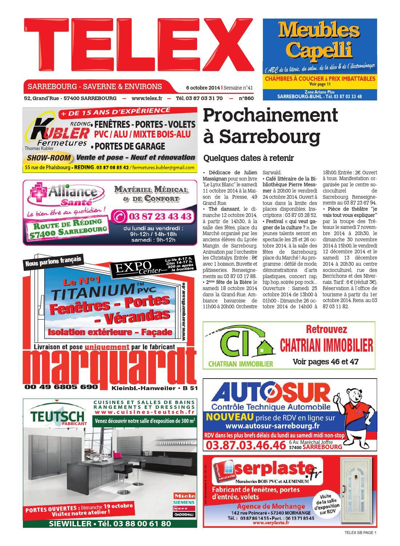4114 Telex Sarrebourg By Claude Vervin - Issuu à Dictionnaire Des Mots Croisés Gator