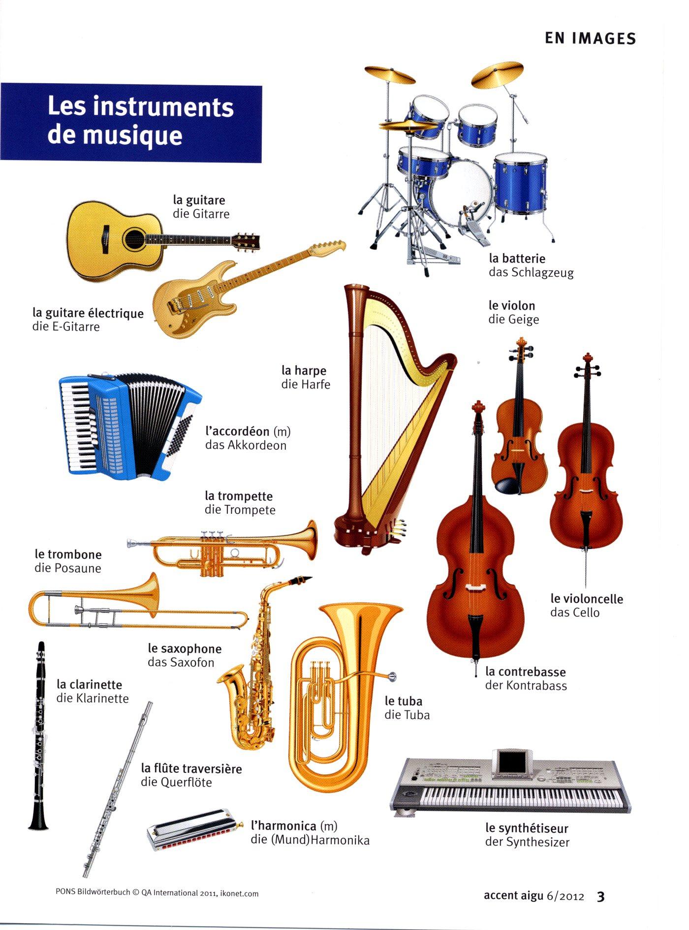 47 Meilleures Images Du Tableau Instruments | Musique intérieur Jeu Des Instruments De Musique