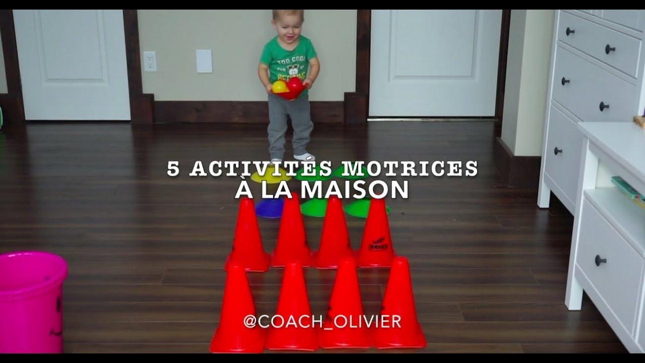 5 Activités Motrices À Faire À La Maison (2-3 Ans) encequiconcerne Activité 2 3 Ans