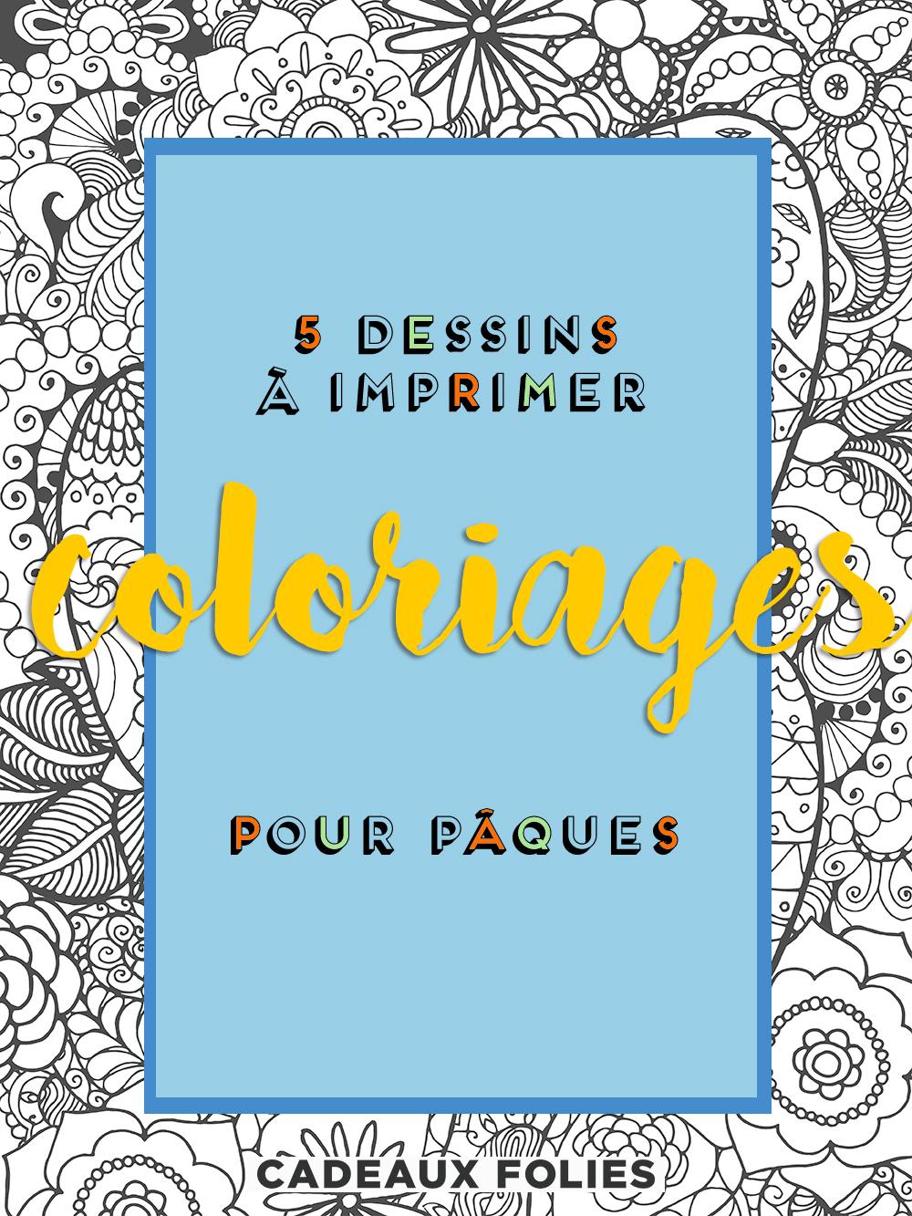 5 Beaux Coloriages De Pâques Pour Enfants & Adultes • • concernant Faire Coloriage Gratuit Sur Ordinateur