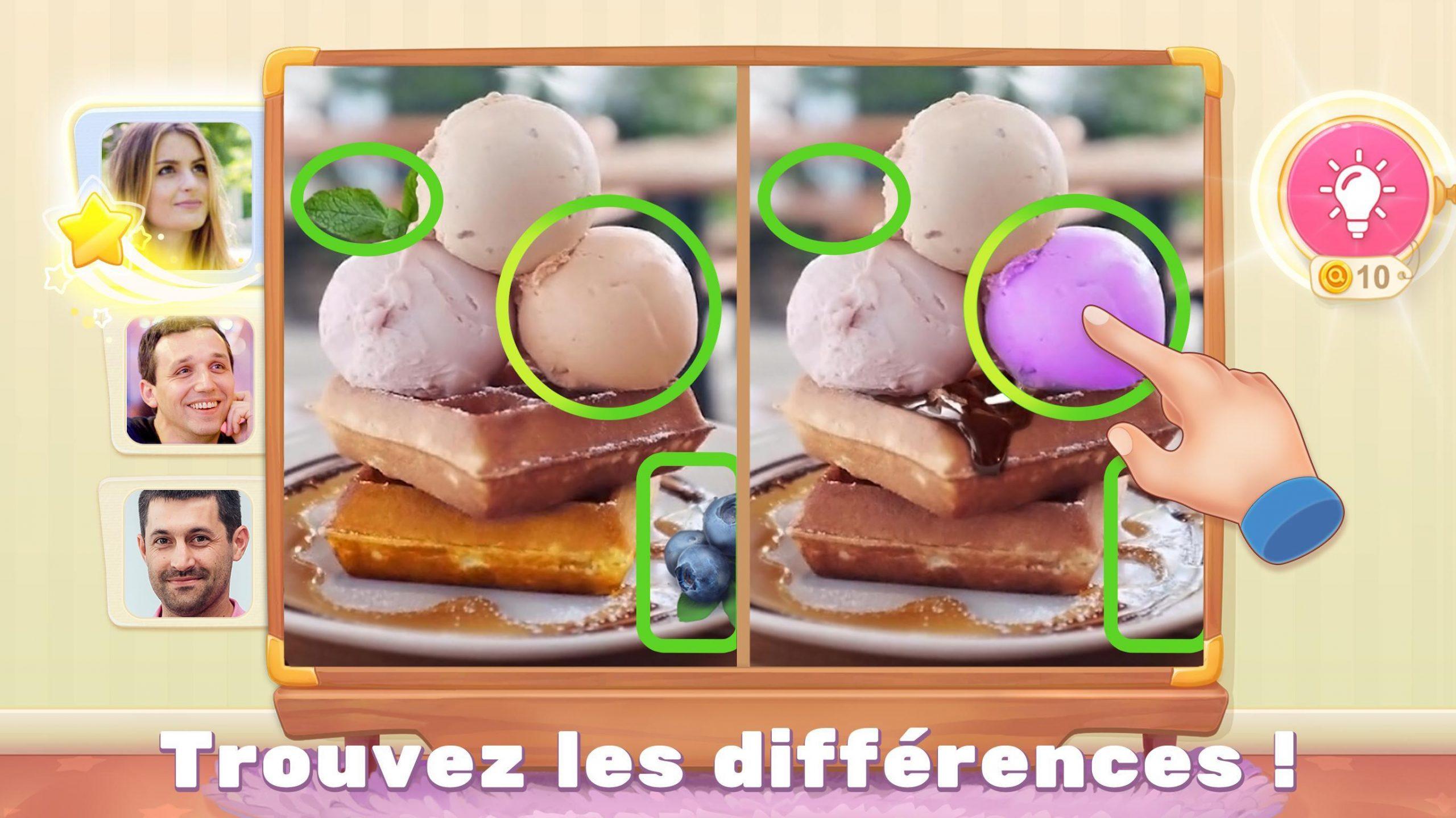 5 Différences Pour Android - Téléchargez L'apk serapportantà Les 5 Differences