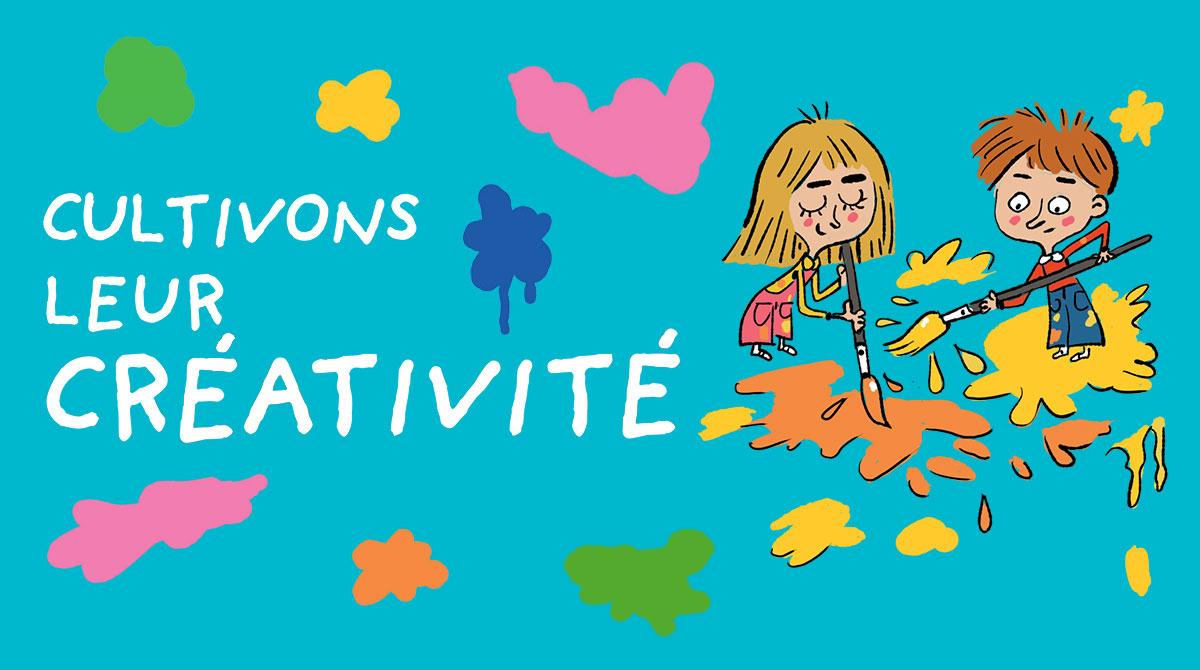 5 Idées D'activités Artistiques Pour Cultiver La Créativité destiné Exercice Pour Enfant De 4 Ans