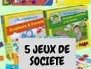 5 Jeux De Société Accessibles Dès 2 Ans - Mel Et Ses Twinous pour Jeux Pour Bébé 2 Ans