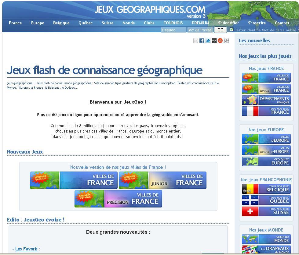 5 / Jeux Géographie - Les Aventures D'ulis avec Jeu Geographie Ville De France
