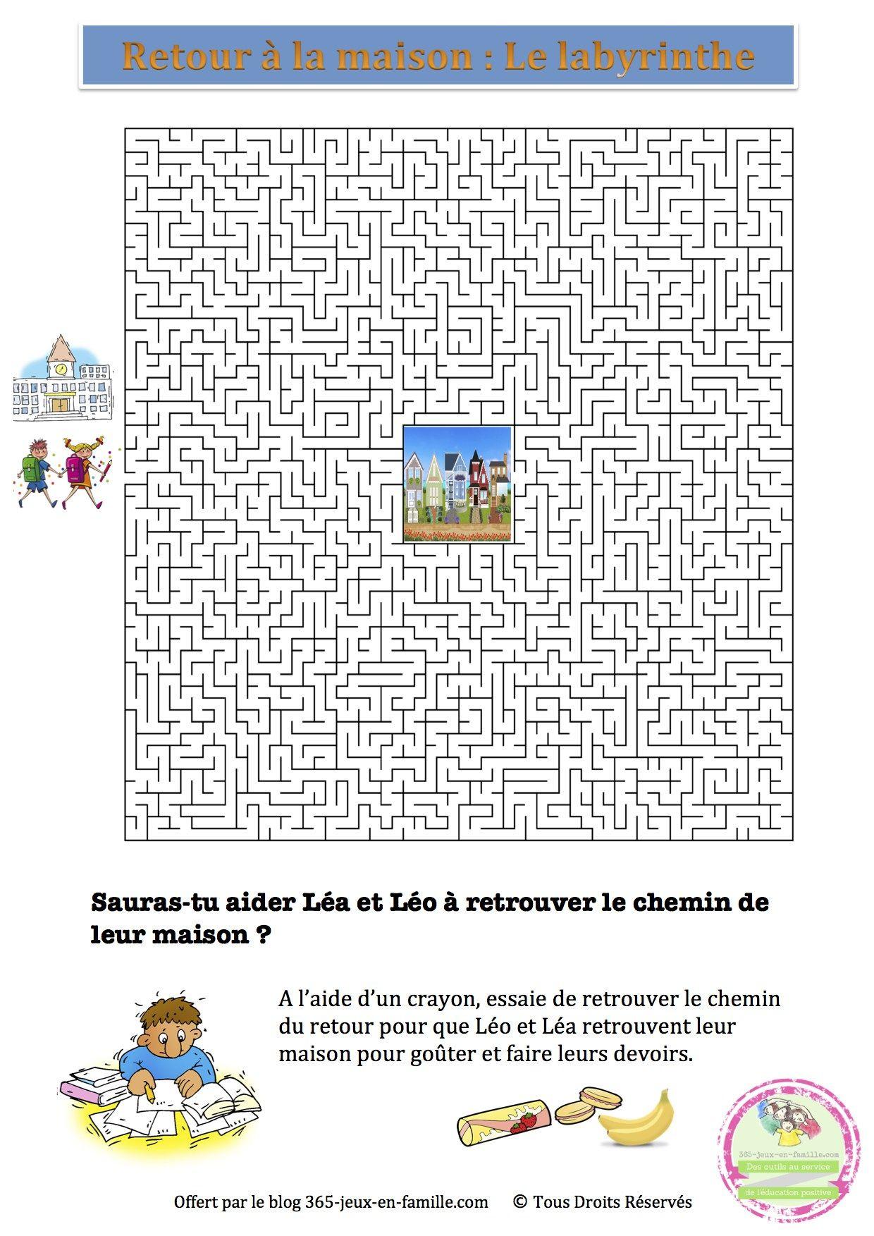 5 Jeux Gratuits À Imprimer Autour De L'école ~ Jeux À serapportantà Mots Croisés Gratuits À Imprimer Cycle 3