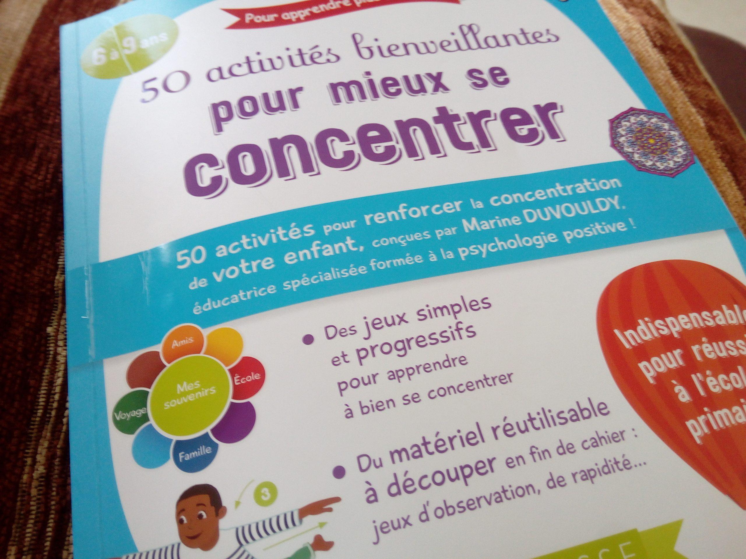 50 Activités Et Jeux Bienveillants Pour La Concentration Des intérieur Jeux De Memory Pour Enfants