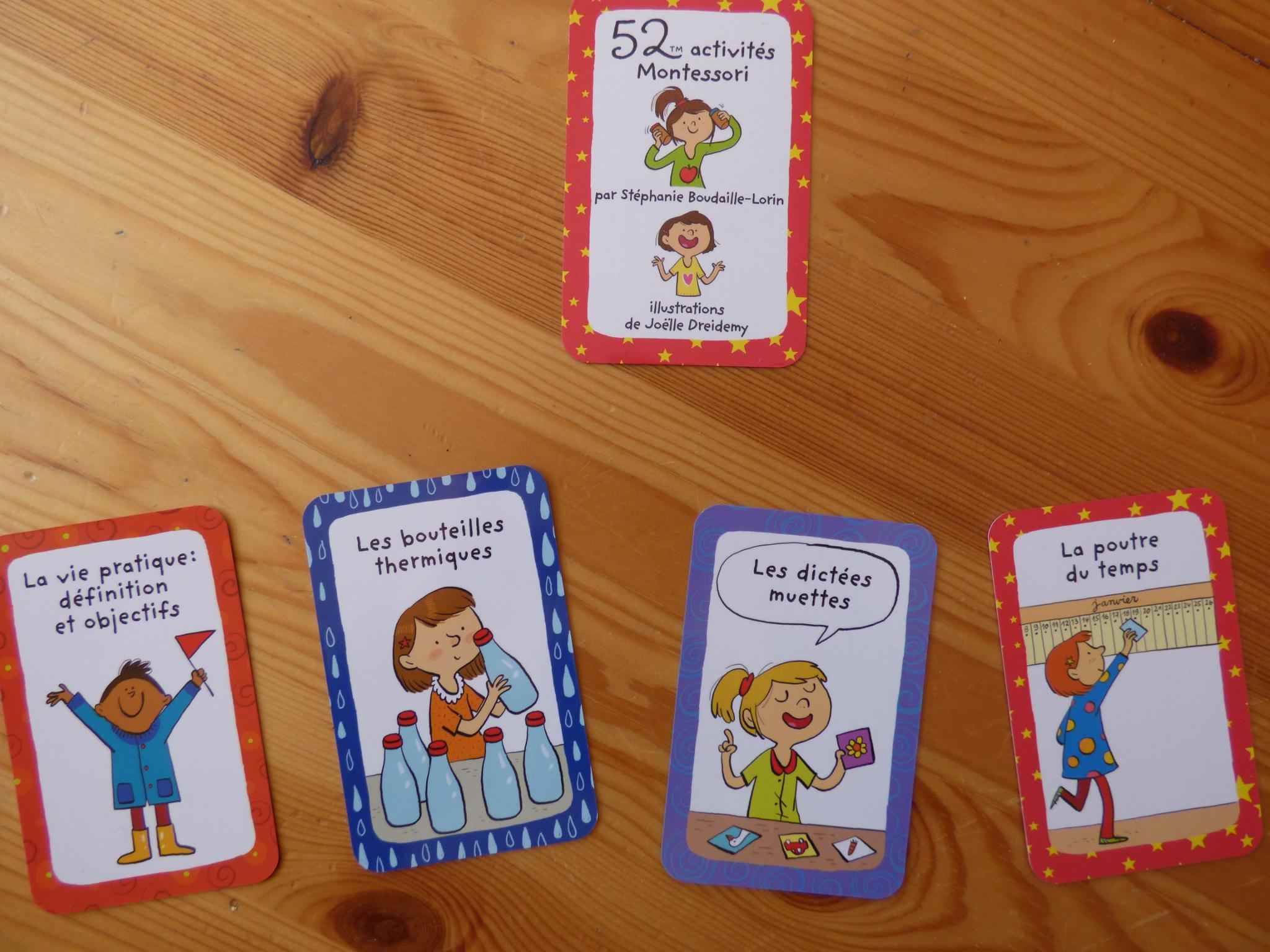 52 Activités Montessori : Mon Dernier Ouvrage - Ressources avec Activité Montessori 3 Ans