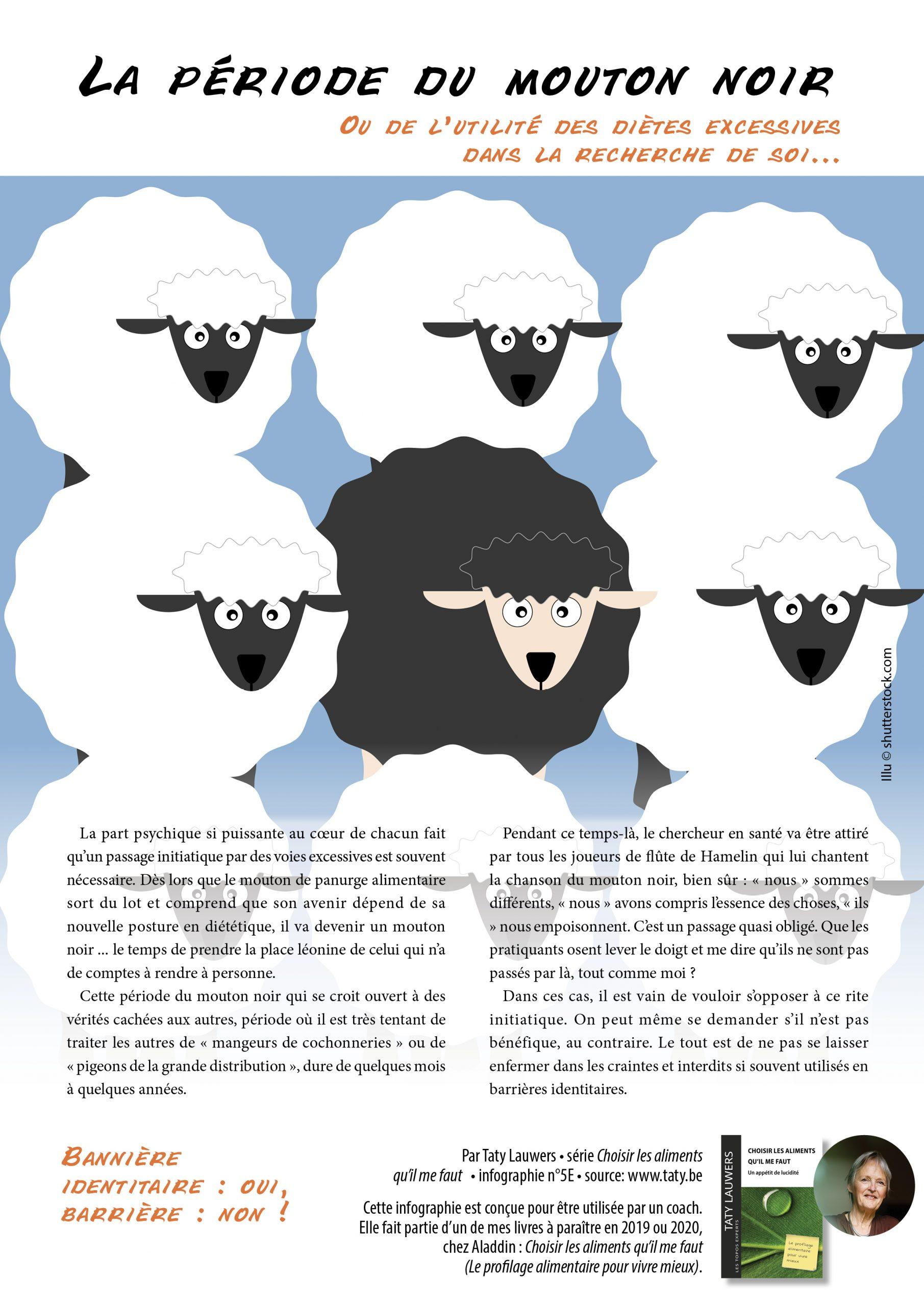 5E. La Période Du Mouton Noir - Taty Lauwers encequiconcerne Photo De Mouton A Imprimer