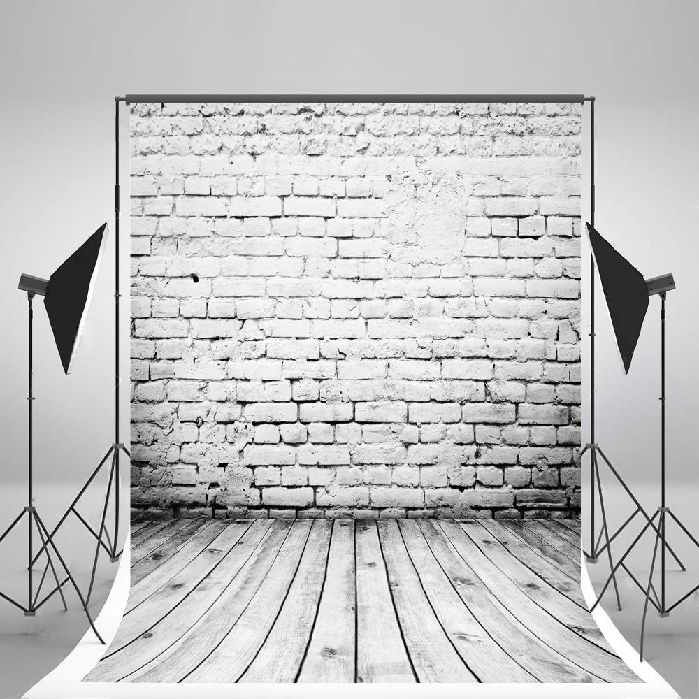 5X7Ft (150X210Cm) Blanc Brique Mur Photo Backgound Cassé Brique Grise  Planchers De Bois De Plancher Pour La Photographie Des Enfants destiné Casse Brique En Ligne