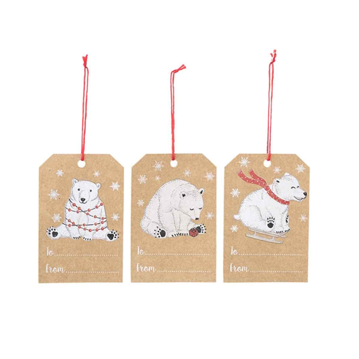 6 Étiquettes Pour Cadeaux De Noël à Etiquette Pour Cadeau De Noel