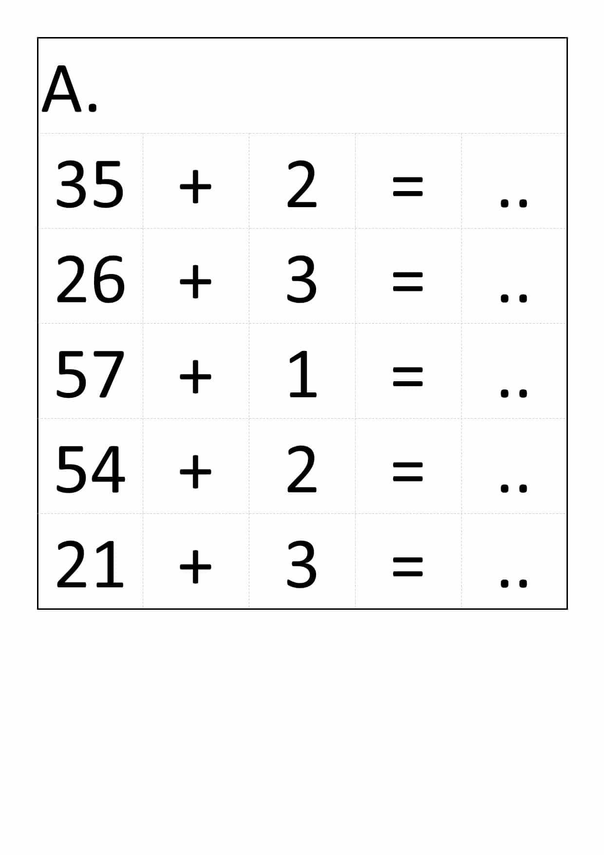 60 Exercices De Calcul Réfléchi Pour Cp Ou Ce1 à Exercice Grande Section En Ligne
