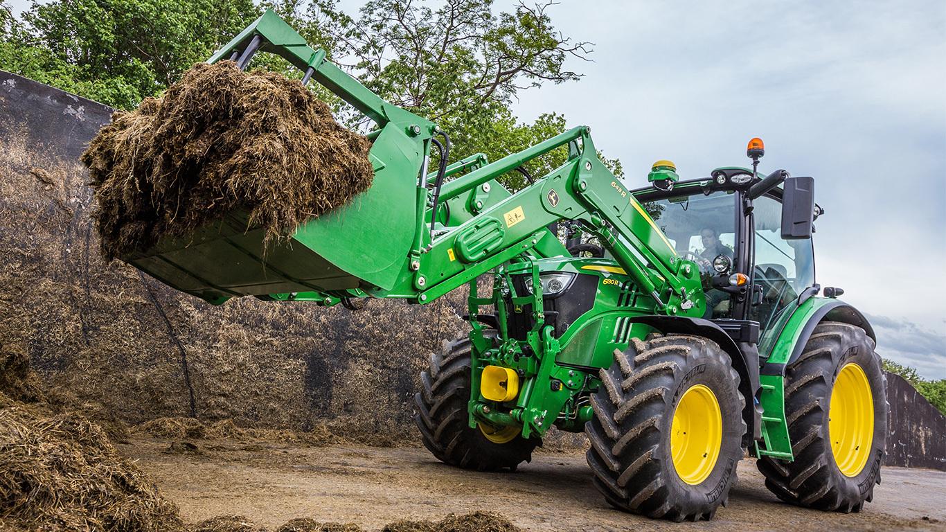 683R | R Serisi | Ön Yükleyici | John Deere Tr concernant Image Tracteur John Deere