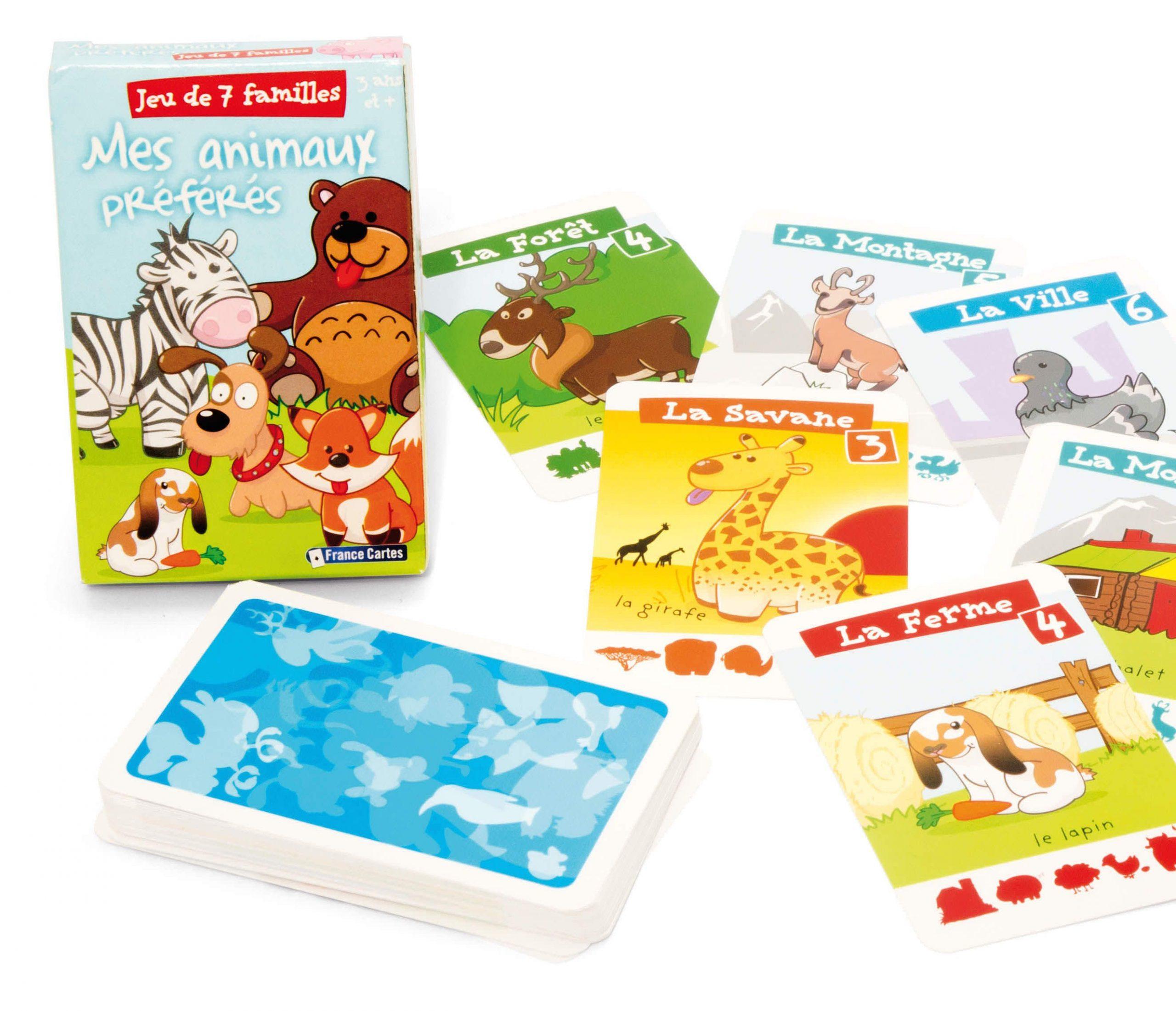 7 Jeux De Cartes Indispensables Pour Les 3 À 5 Ans   Jeux pour Jeux Pour Enfant De 7 Ans