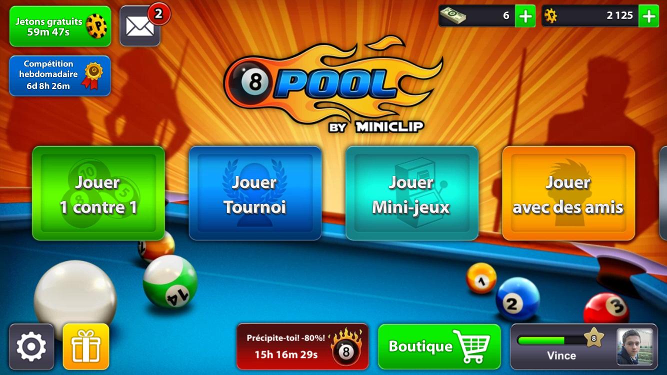 8 Ball Pool Un Jeu De Billard En Ligne Sur Ios | Nouvelles serapportantà Jeux Gratuit Billard