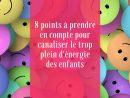 8 Points À Prendre En Compte Pour Canaliser Le Trop Plein D dedans Activité Fille 6 Ans