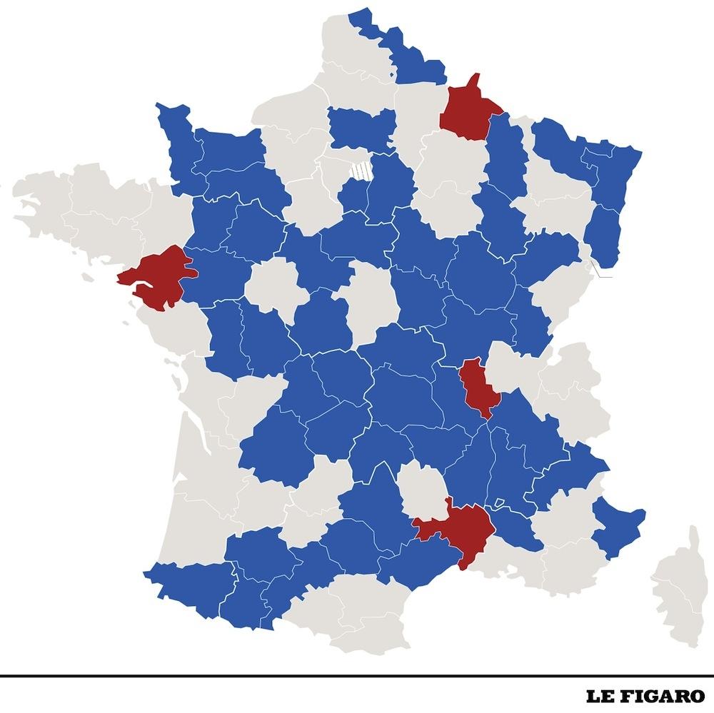 80 Km/h : Les Départements Désireux De Revenir Aux 90 Km/h avec Puzzle Des Départements Français