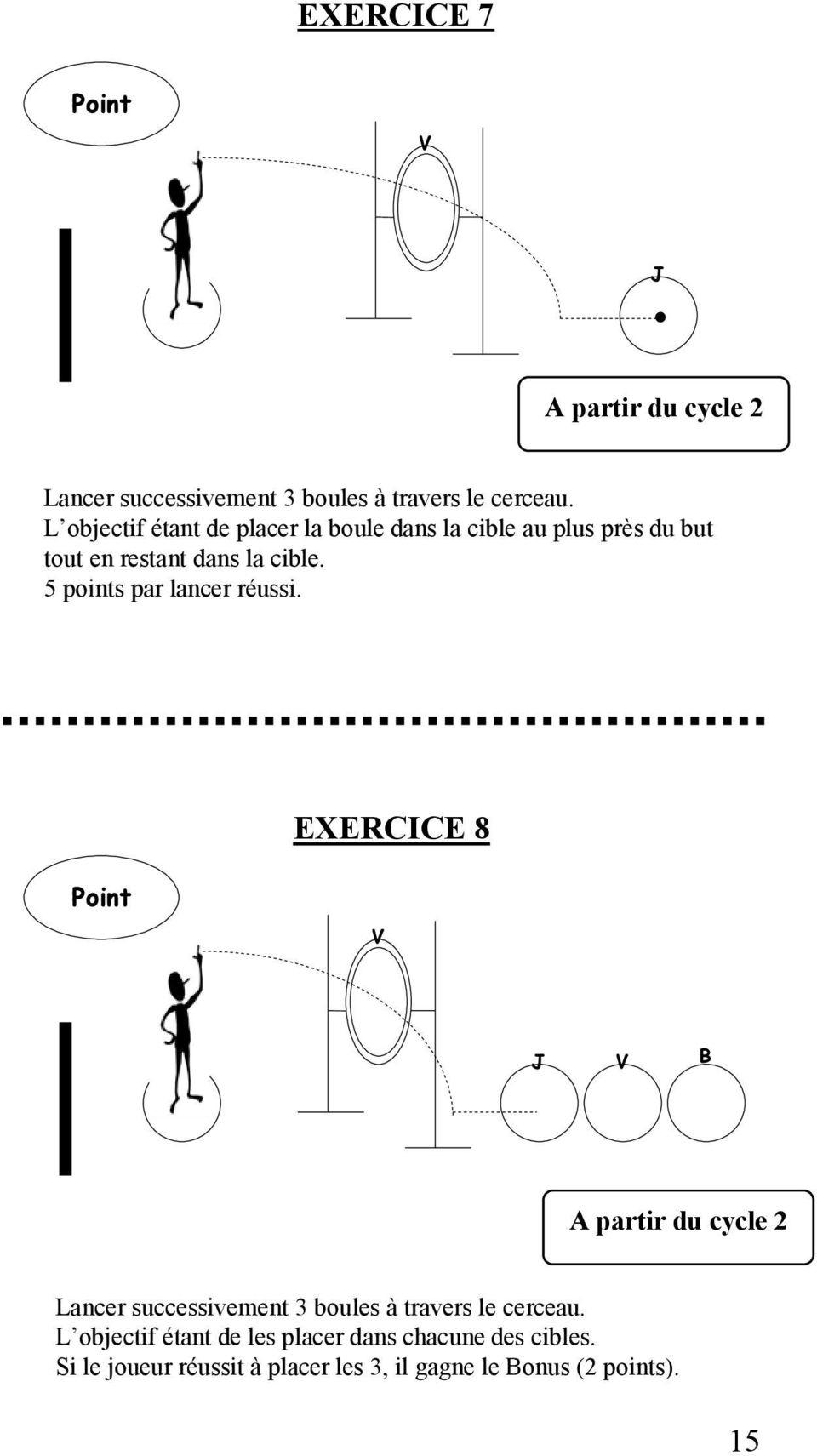 86 Exercices De Pétanque Pour Tous Niveaux - Pdf à Exercice Ludique