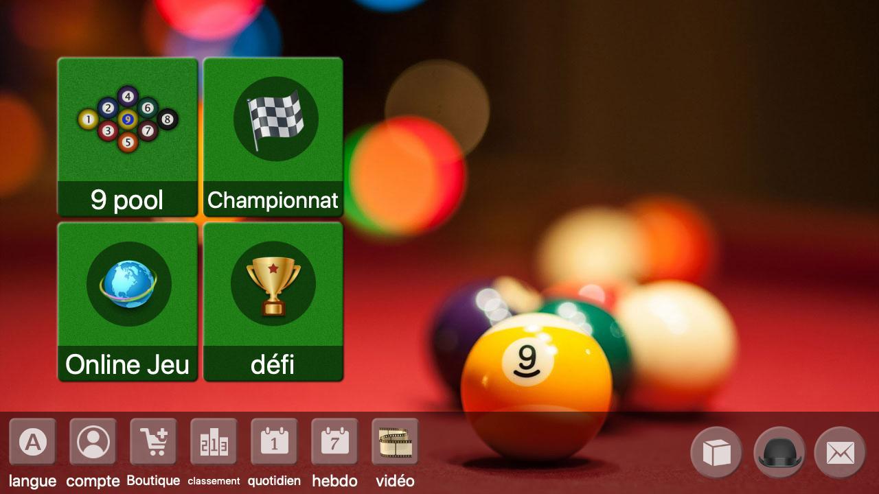 9 Ball Offline / Online Billard Jeu Gratuit Pour Android concernant Jeux Gratuit Billard
