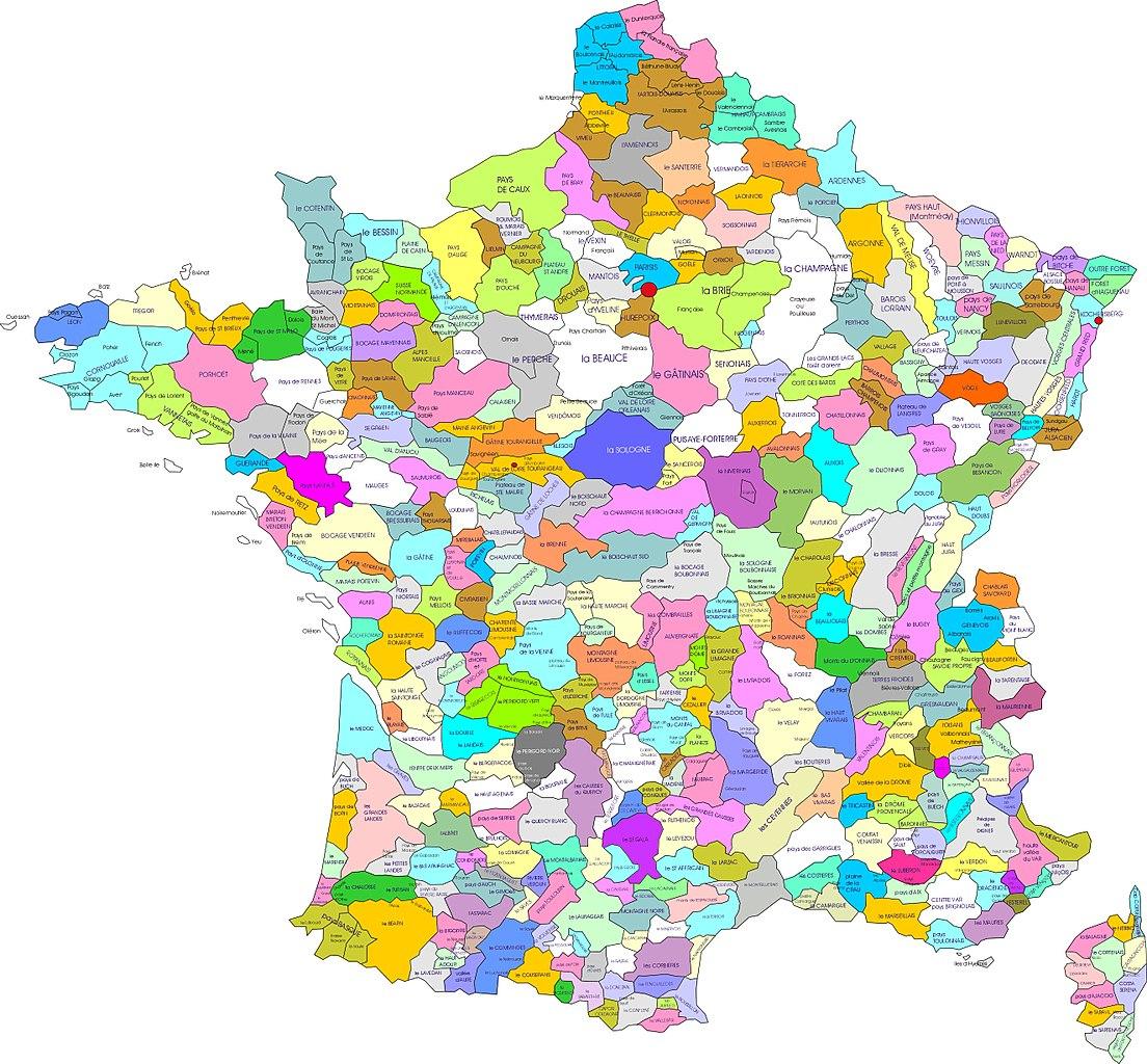 9Cb Carte France Region | Wiring Resources intérieur Carte De Region France