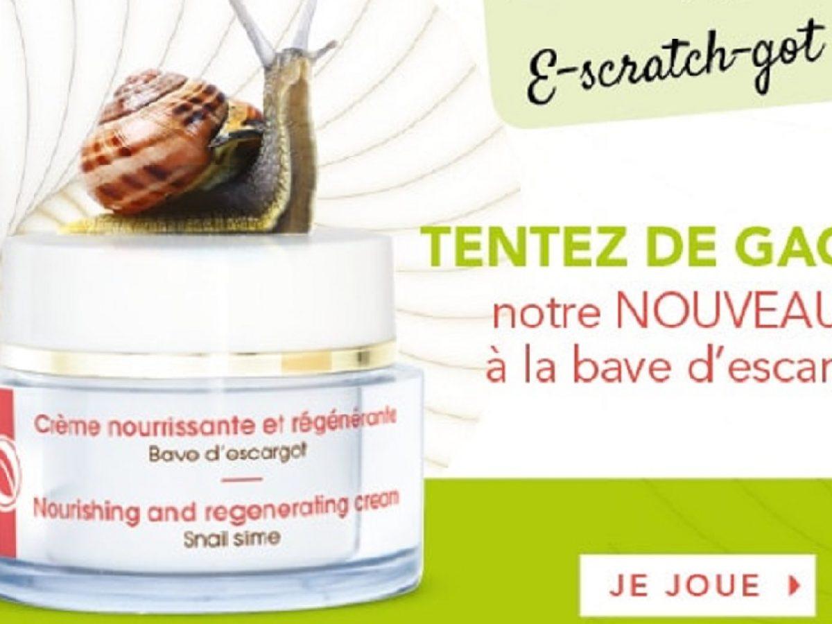 A Gagner : 10 Crèmes À La Bave D'escargot • Mes Échantillons dedans Jeux Gratuit Escargot