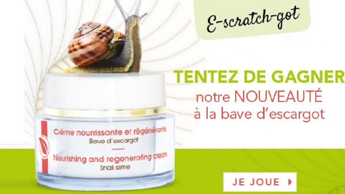 A Gagner : 10 Crèmes À La Bave D'escargot • Mes Échantillons encequiconcerne Jeux Gratuit Escargot