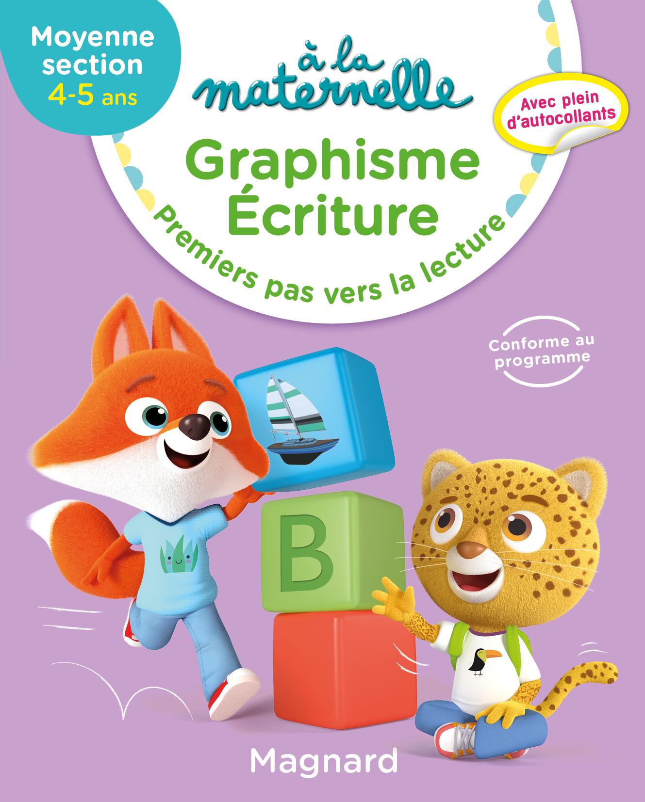 A La Maternelle, Graphisme Ms | Editions Magnard concernant Livre Graphisme Maternelle