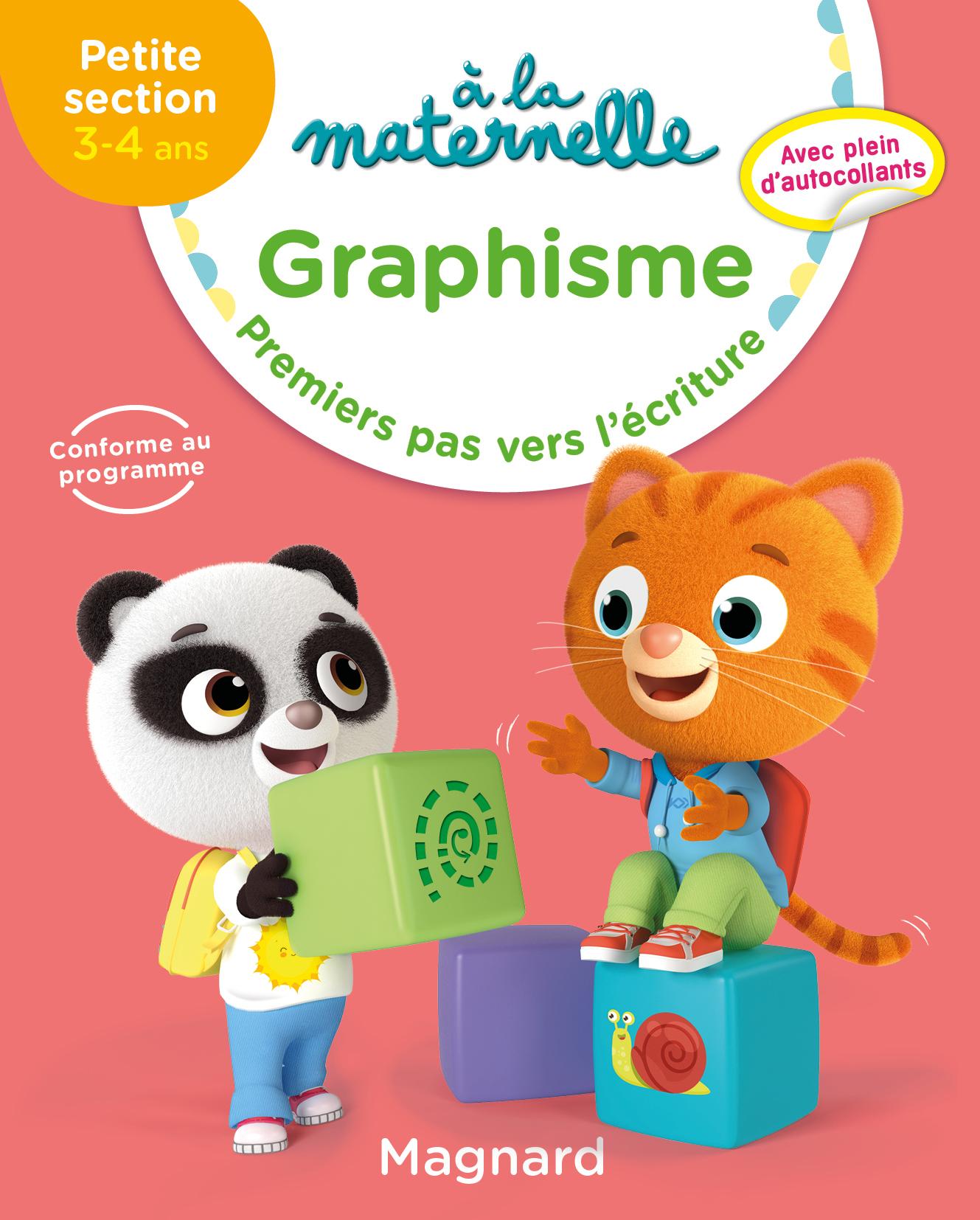 A La Maternelle, Graphisme Ps | Editions Magnard concernant Livre Graphisme Maternelle