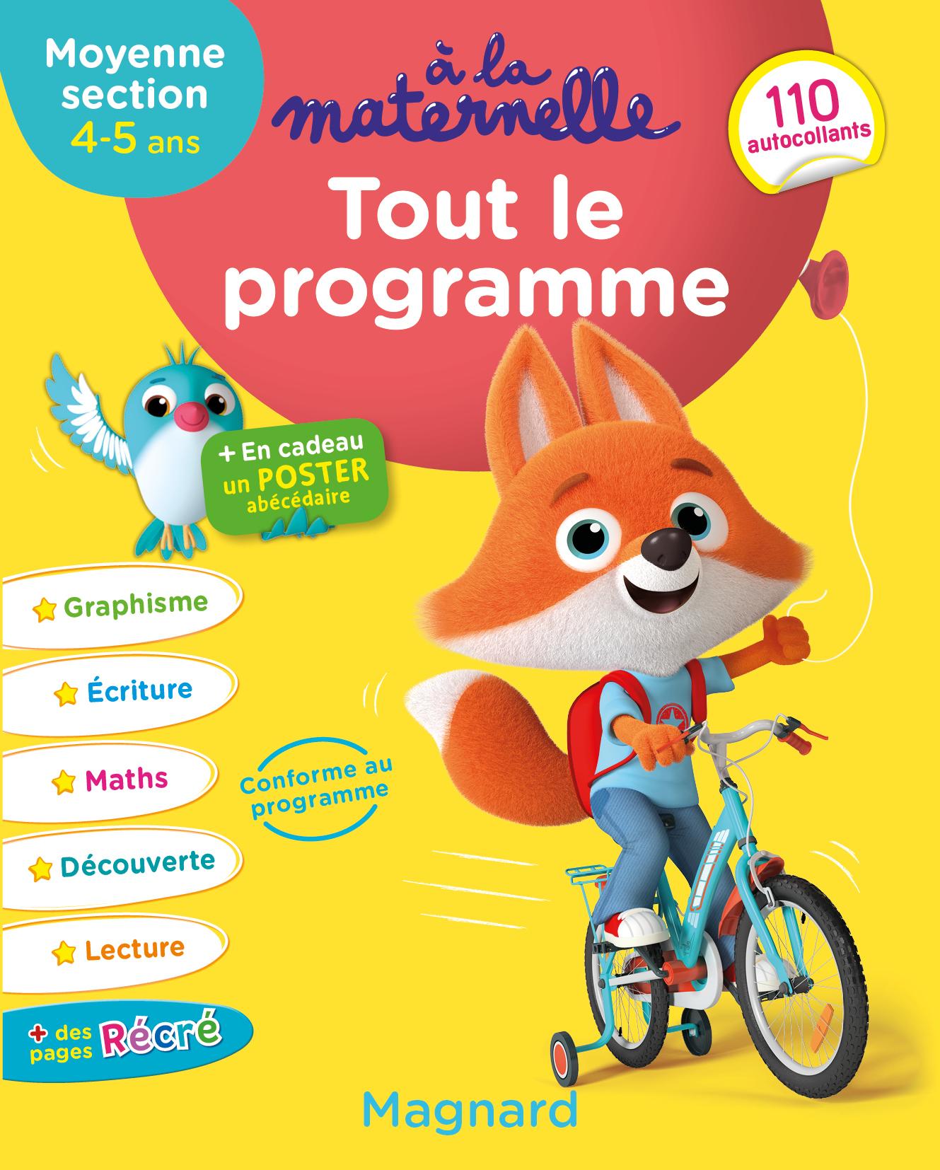A La Maternelle, Tout Le Programme Ms | Editions Magnard encequiconcerne Livre Graphisme Maternelle