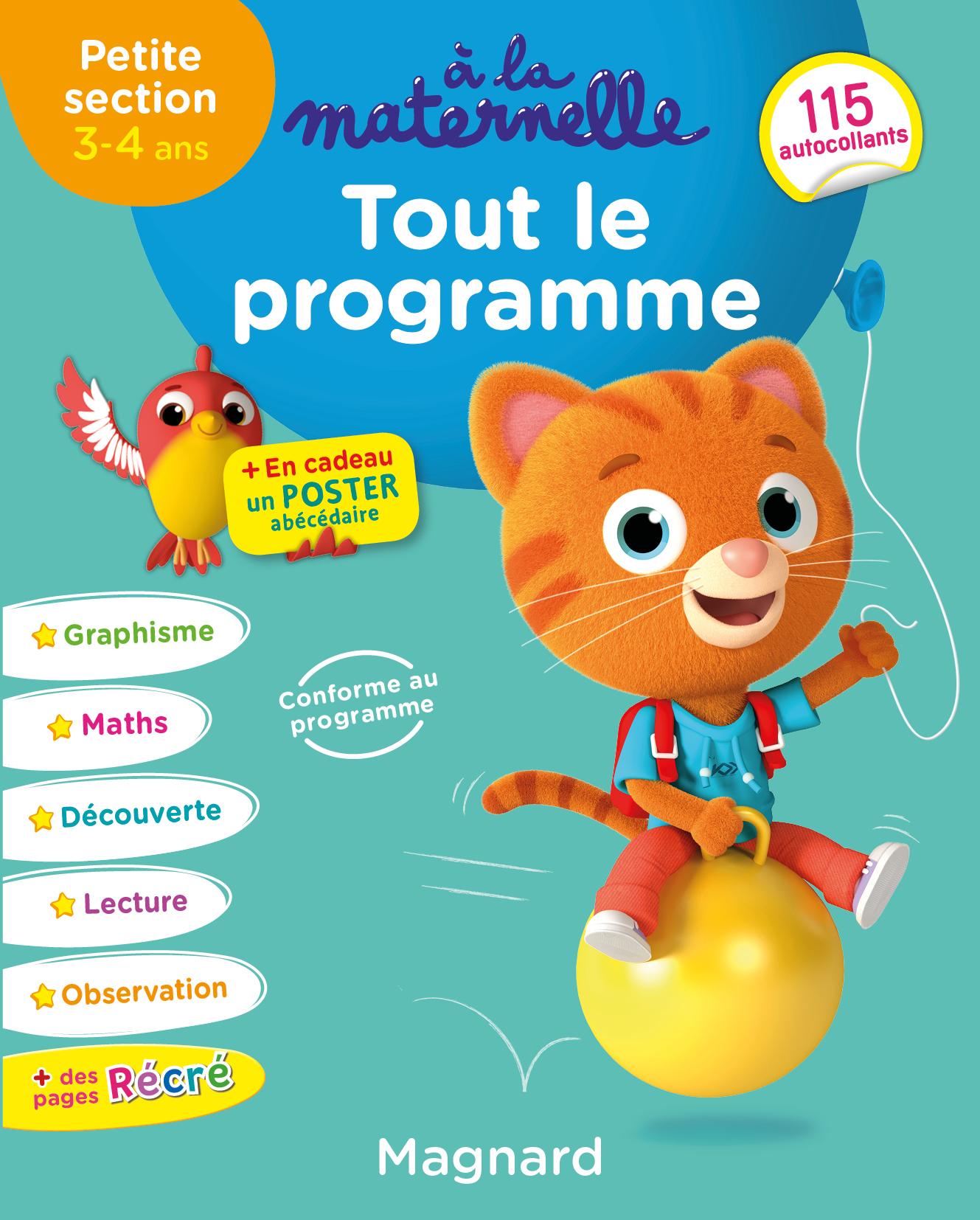 A La Maternelle, Tout Le Programme Ps | Magnard Parascolaire avec Livre Graphisme Maternelle