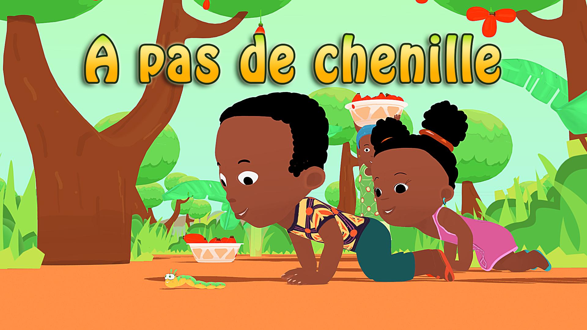 A Pas De Chenille, Un Pas Très Amusant Pour Les Tout-Petits concernant Jeux Africains Pour Enfants
