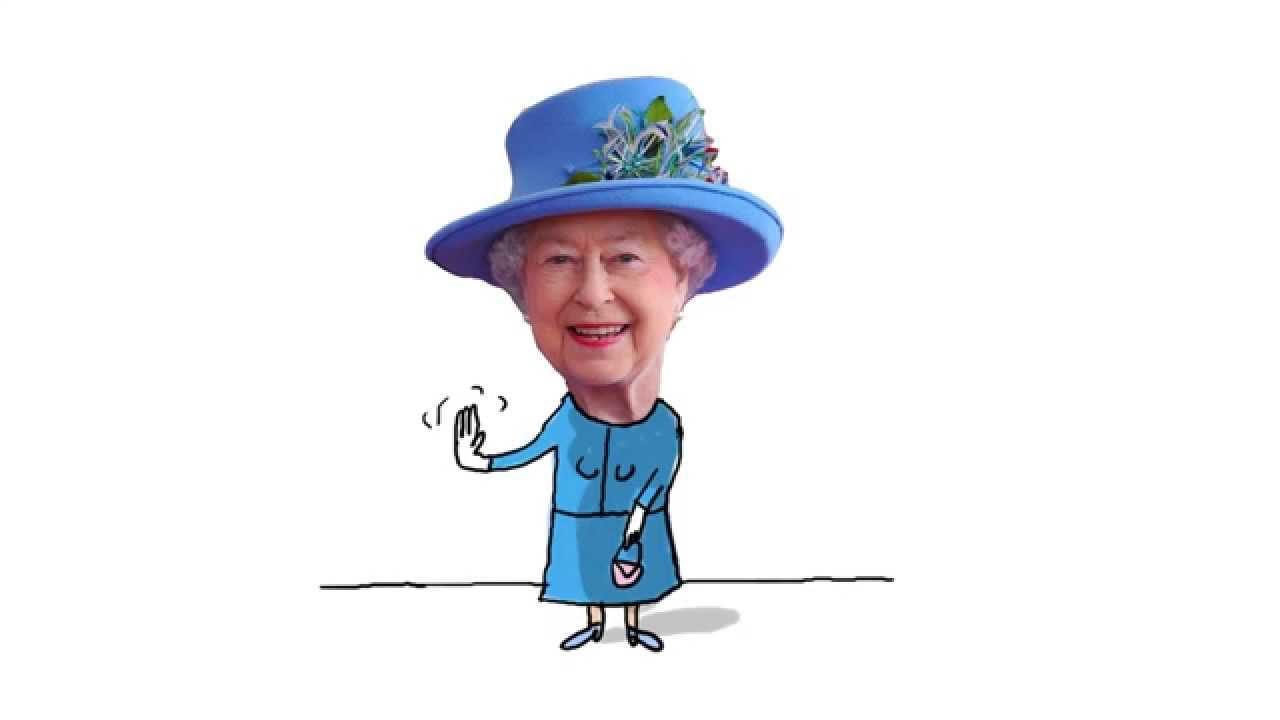À Quoi Sert La Reine D'angleterre ? - 1 Jour, 1 Question dedans Dessin De Angleterre