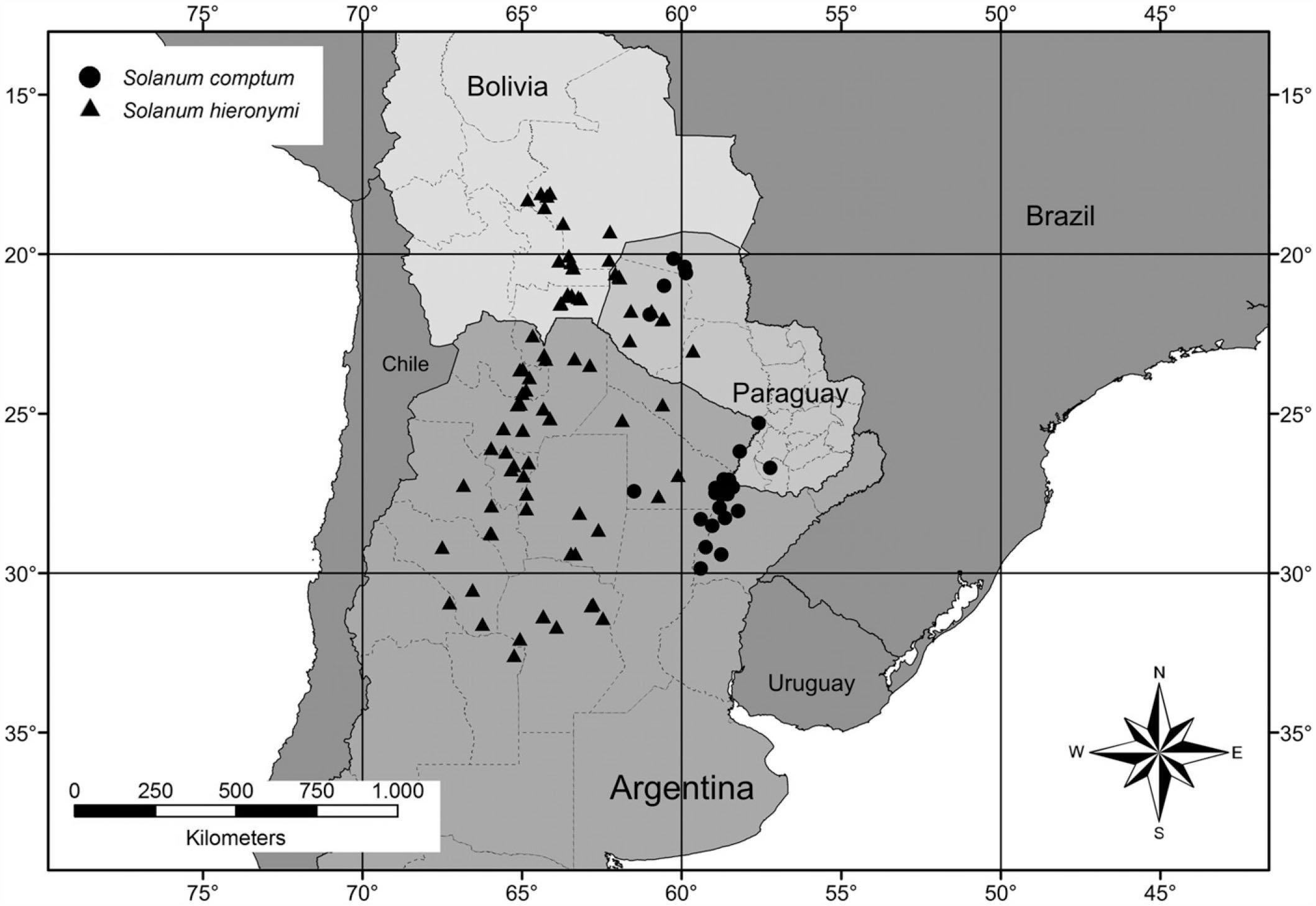 A Revision Of Solanum Section Lathyrocarpum (The Carolinense intérieur Revision Grande Section