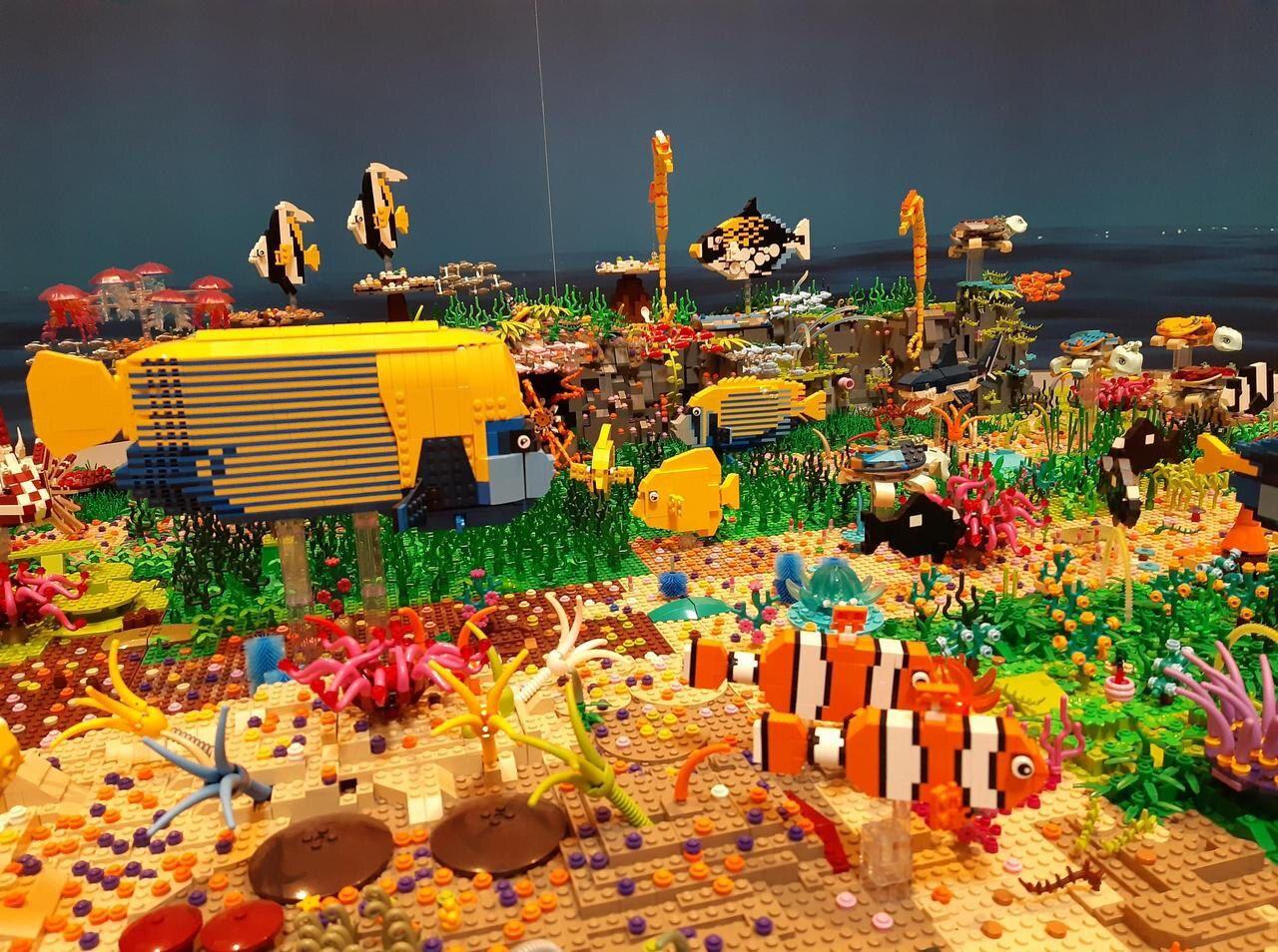 A Versailles, Une Expo Lego Qui Casse Des Briques - Le Parisien pour Casse Brique Enfant