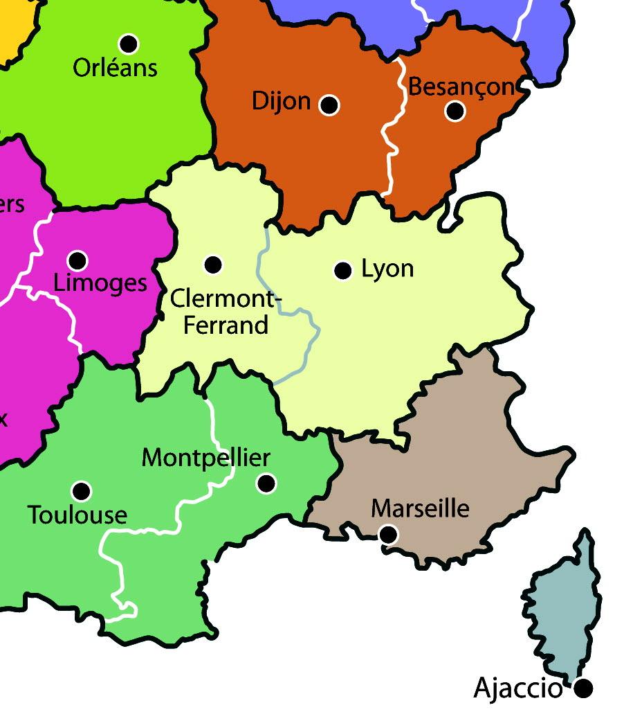 A Votre Avis | La France À 13 Régions : Selon-Vous, Est-Ce tout Les 13 Régions