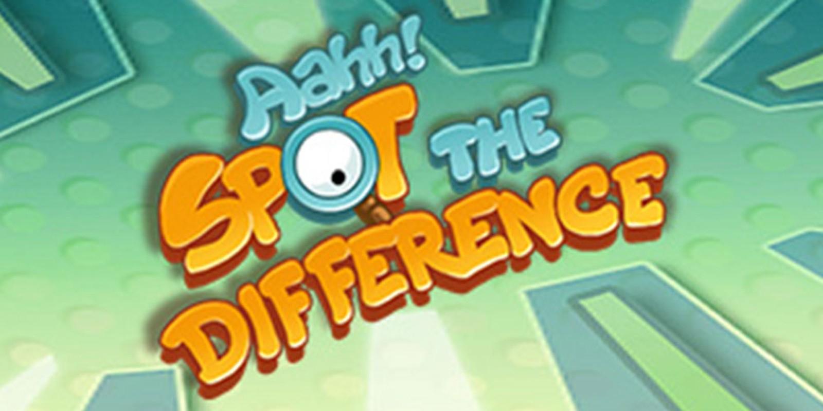 Aahh! Spot The Difference | Nintendo Dsiware | Jeux | Nintendo concernant Jeux De La Différence