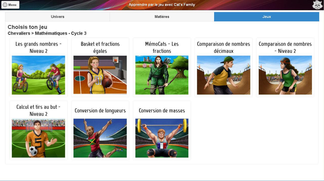 Abonnement Etablissement 1 An À La Plateforme De Jeux encequiconcerne Jeux Educatif En Ligne Gratuit