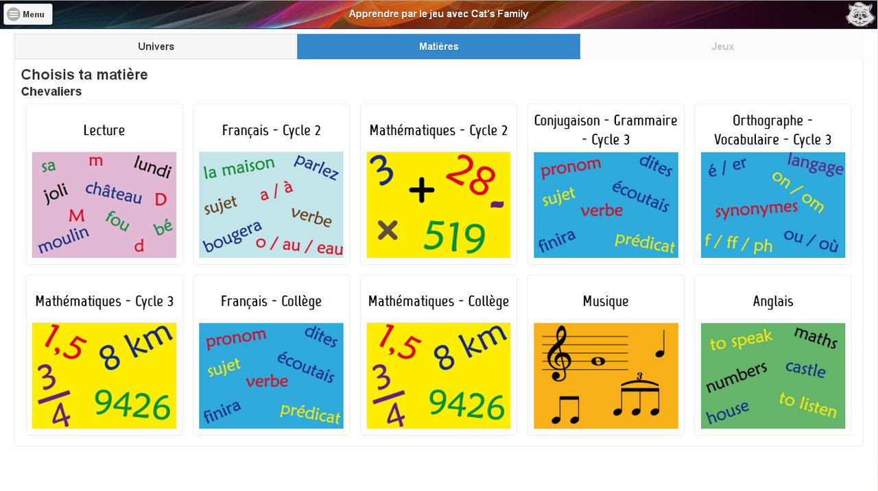 Abonnement Etablissement 1 An À La Plateforme De Jeux pour Jeux Éducatifs À Imprimer Collège