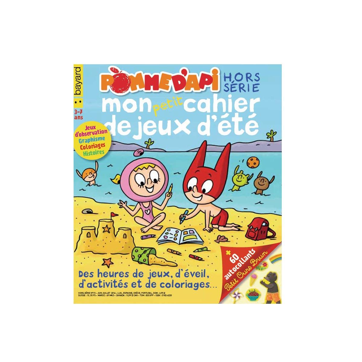 Abonnement Pomme D'api 10 Mois destiné Jeux Enfant 7 Ans