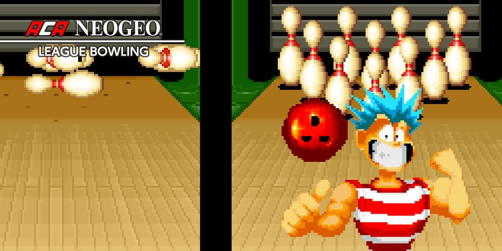 Aca Neogeo League Bowling | Jeux À Télécharger Sur Nintendo tout Jeux De Bouligue