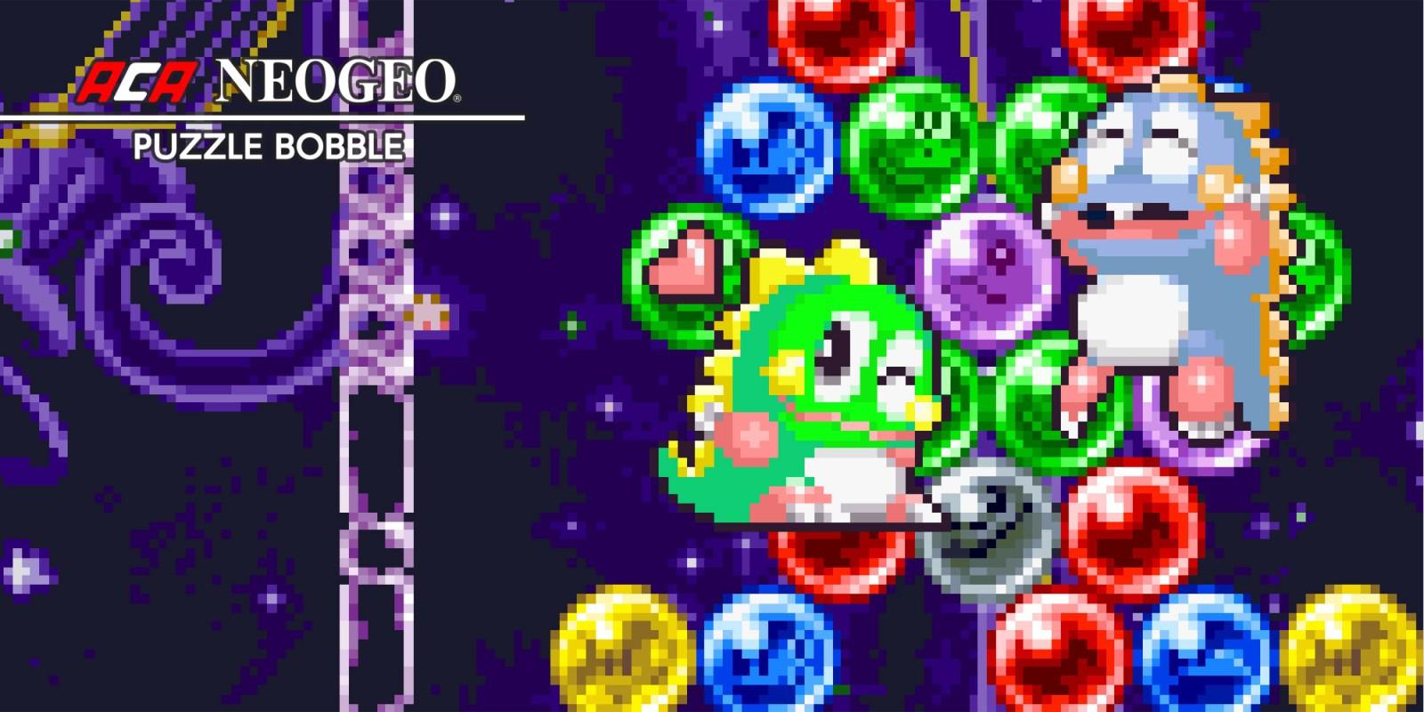 Aca Neogeo Puzzle Bobble | Jeux À Télécharger Sur Nintendo encequiconcerne Puzzle Gratuit A Telecharger Pour Tablette