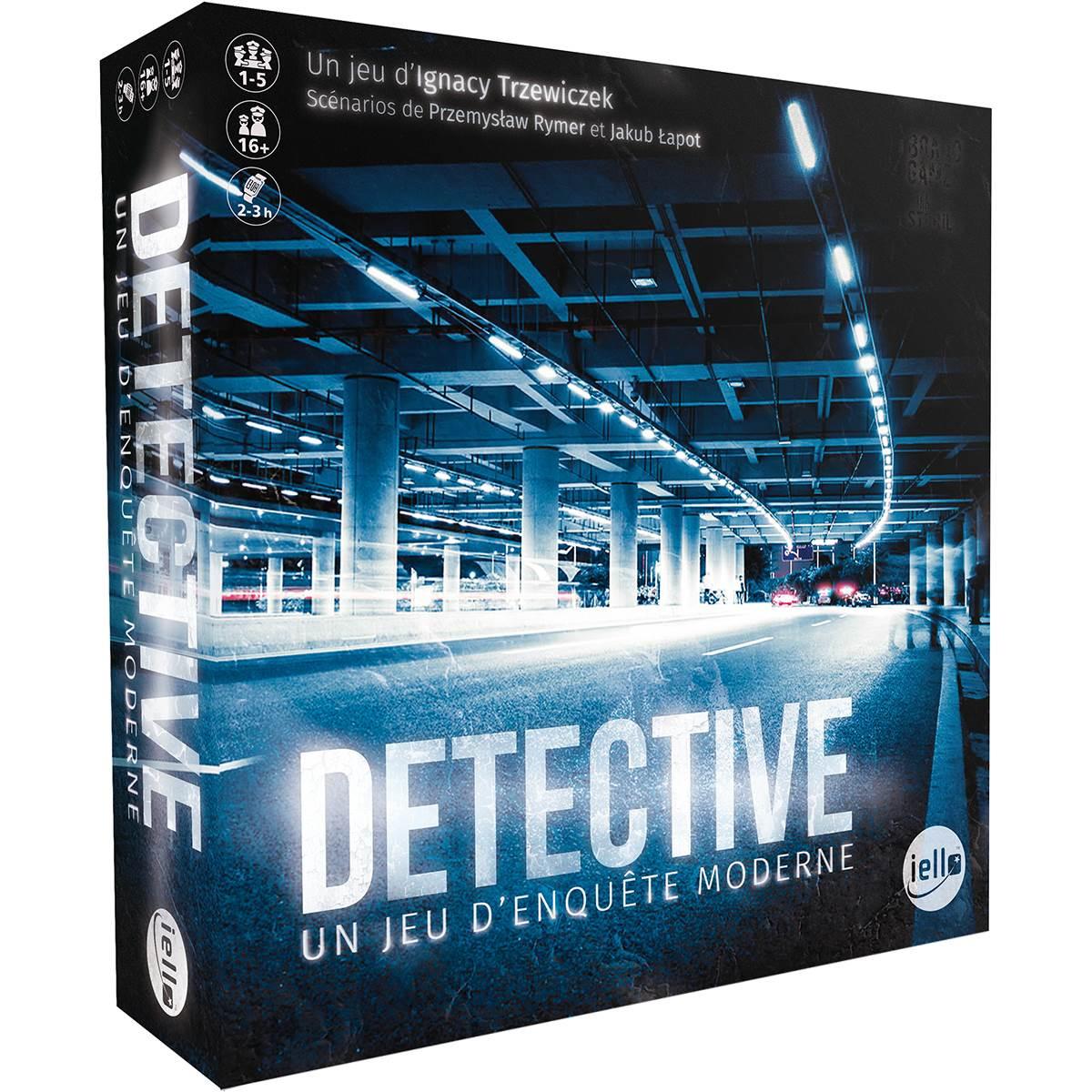 Acheter Detective - Jeu De Société - Iello concernant Jeux Societe Interactif