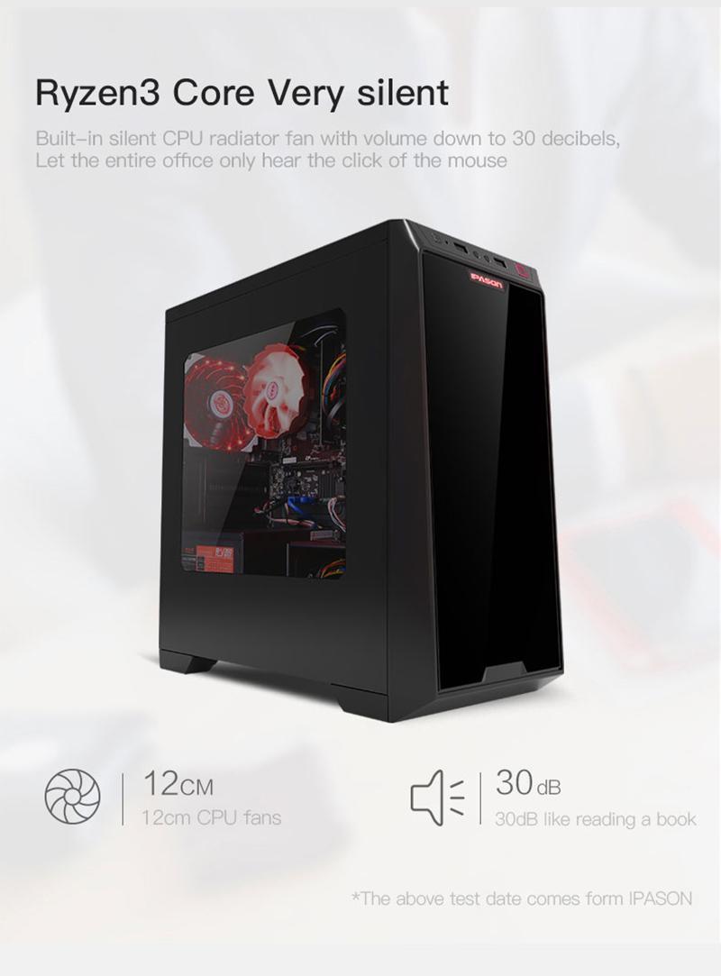 Acheter Ipason A3 Mini Pc Gaming Amd Ryzen 3 2200G Ddr4 4G 8G 120G Ssd  Win10 Barebone Hdmi Vga Ordinateur De Bureau De $230.16 Du Ipason |  Dhgate destiné Ordinateur 3 Ans