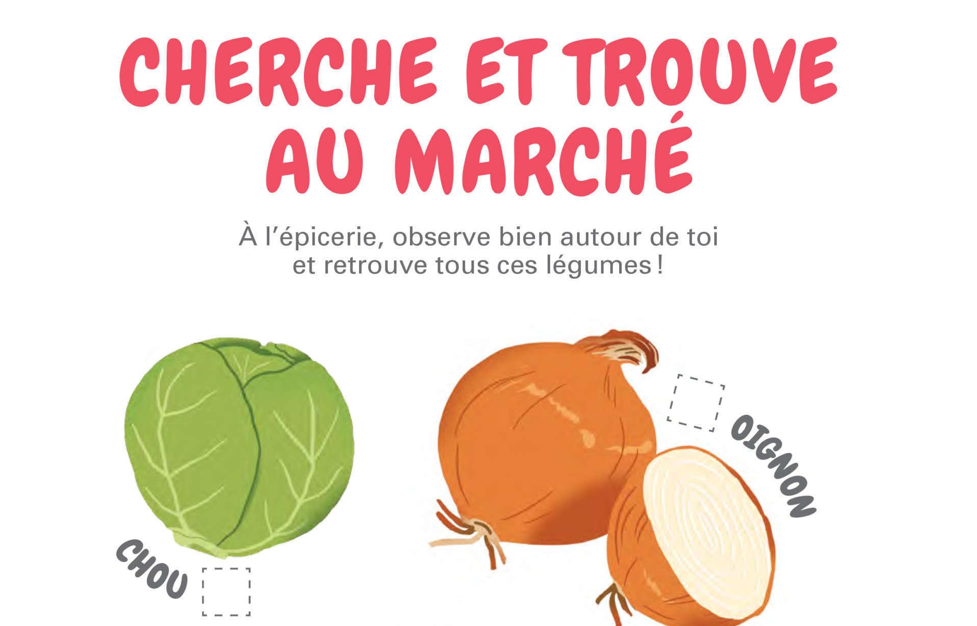 Activité De La Semaine - Jeux À L'épicerie | Fondation Olo intérieur Activité A Imprimer 2 3 Ans