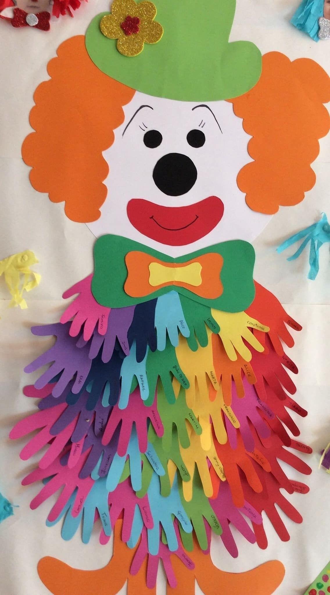 Activité Manuelle Carnaval De Barbara Du Tableau Basteln Mit concernant Activité Manuelle Noel En Creche