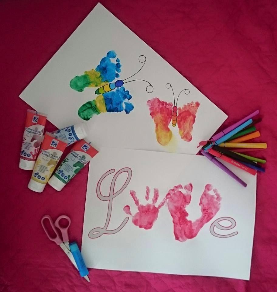 Activité Manuelle De Peinture Saint Valentin Ou Fête Des tout Activité Manuel Pour Enfant