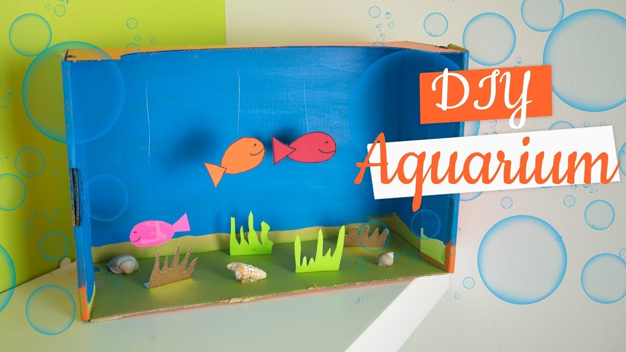 Activité Manuelle Été Aquarium Diy Avec Familysphère pour Activité Manuelle 4 Ans