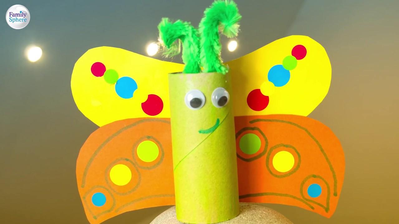 Activité Manuelle Printemps Diy Papillons dedans Activité Manuelle Enfant 4 Ans